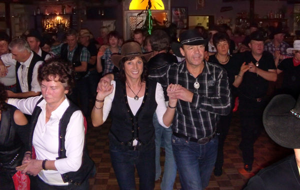 Line Dance Party der GLDs 2013
