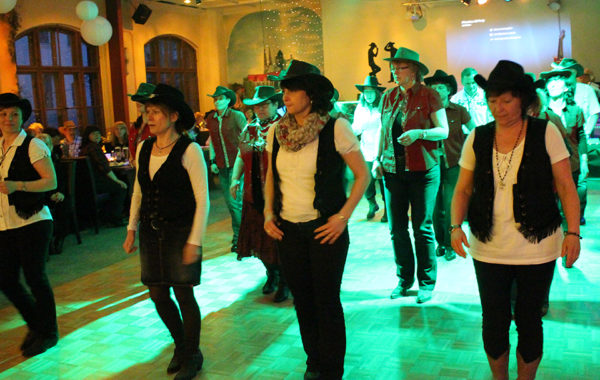 Line Dance Party der GLDs 2016