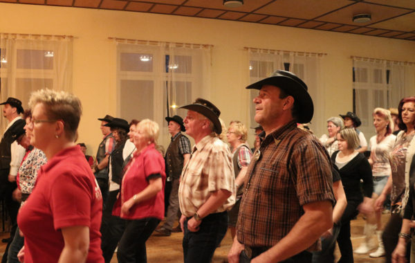 Line Dance Party der Rebels